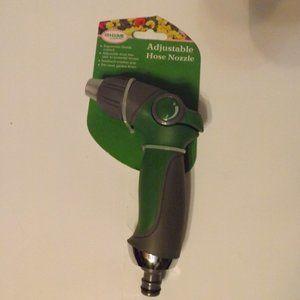 NEW Home & Garden Adjustable Hose Nozzle (Green)